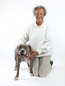 pit bull with elderly woman FINAL